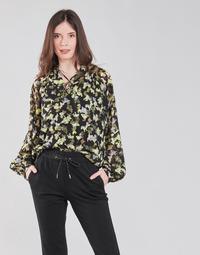 Textiel Dames Tops / Blousjes S.Oliver 14-1Q1-11-4082-99A1 Zwart / Multicolour
