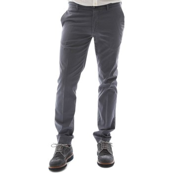 Textiel Heren Chino's Sei3sei 6OYSTER E1653 Zwart