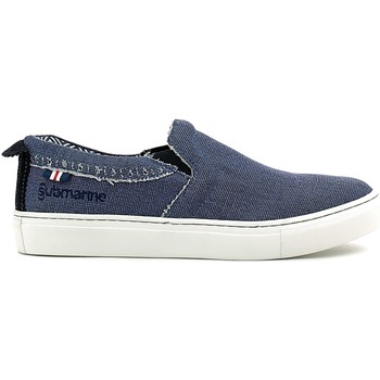 Schoenen Heren Instappers Submariine London SML610013 Blauw