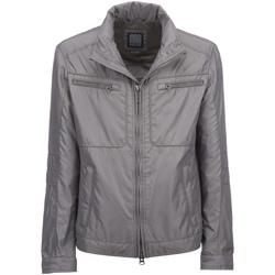 Textiel Heren Jacks / Blazers Geox M6220S T0706 Grijs