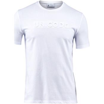 Textiel Heren T-shirts korte mouwen Lumberjack CM60343 001 508 Wit