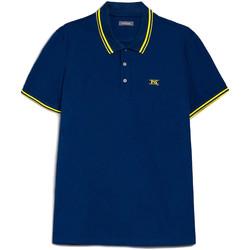 Textiel Heren Polo's korte mouwen NeroGiardini E072370U Blauw