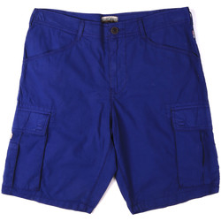 Textiel Heren Korte broeken / Bermuda's Napapijri N0YHF6 Blauw