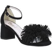 Schoenen Dames Sandalen / Open schoenen Grace Shoes 380020 Zwart