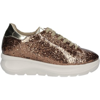 Schoenen Dames Lage sneakers Fornarina PE17VH9545G091 Goud