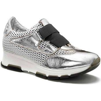 Schoenen Dames Lage sneakers Keys 5183 Zilver