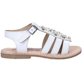 Schoenen Meisjes Sandalen / Open schoenen Asso 65954 Wit