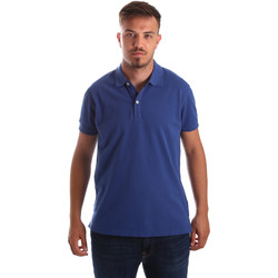Textiel Heren Polo's korte mouwen Navigare NV82086 Blauw