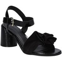 Schoenen Dames Sandalen / Open schoenen Elvio Zanon EJ5605P.L Zwart