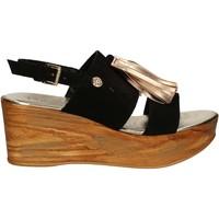 Schoenen Dames Sandalen / Open schoenen Byblos Blu 672213 Zwart