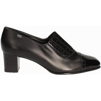 Schoenen Dames Mocassins Valleverde V12024 Zwart