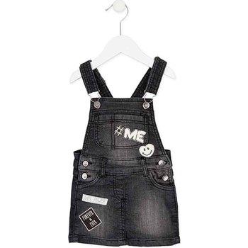 Textiel Meisjes Jumpsuites / Tuinbroeken Losan 726 7012AD Zwart