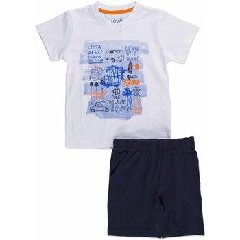 Textiel Kinderen Setjes Losan 815-8045AC Wit