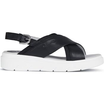 Schoenen Dames Sandalen / Open schoenen Geox D92DLA 000BC Zwart