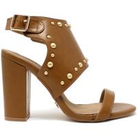 Schoenen Dames Sandalen / Open schoenen Gold&gold A19 GZ01 Bruin