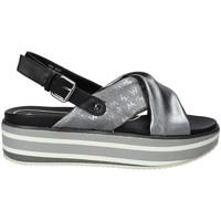 Schoenen Dames Sandalen / Open schoenen Wrangler WL91615A Grijs