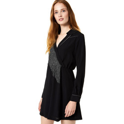 Textiel Dames Korte jurken Liu Jo F69292 T9121 Zwart