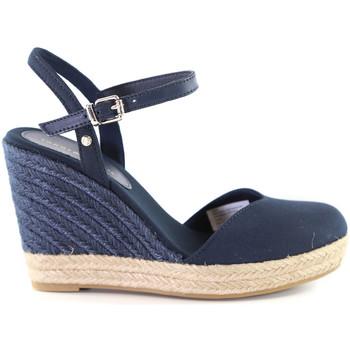 Schoenen Dames Sandalen / Open schoenen Tommy Hilfiger FW0FW04786 Blauw