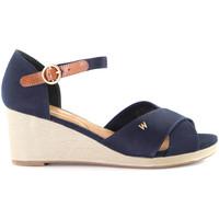 Schoenen Dames Espadrilles Wrangler WL01520A Blauw