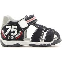 Schoenen Jongens Sandalen / Open schoenen NeroGiardini P623931M Blauw