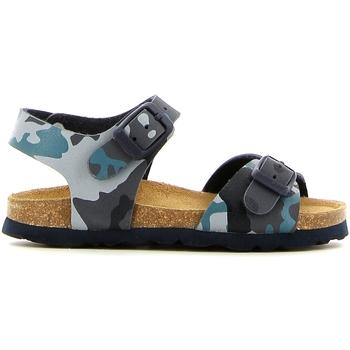 Schoenen Meisjes Sandalen / Open schoenen Grunland SB0169 Blauw