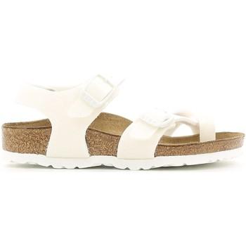 Schoenen Meisjes Sandalen / Open schoenen Birkenstock 371593 Wit