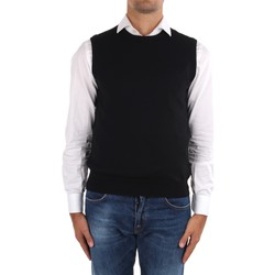 Textiel Heren Vesten / Cardigans La Fileria 14290 55168 Black