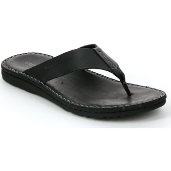 Schoenen Heren Teenslippers Grunland CI1153 Zwart