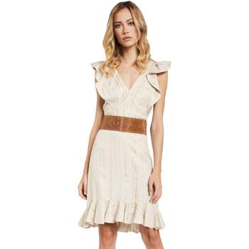 Textiel Dames Korte jurken Gaudi 011FD15057 Beige