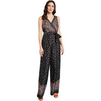 Textiel Dames Jumpsuites / Tuinbroeken Gaudi 011FD25027 Zwart