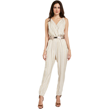 Textiel Dames Jumpsuites / Tuinbroeken Gaudi 011FD25028 Beige