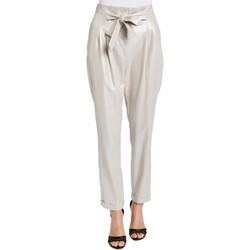 Textiel Dames Broeken / Pantalons Gaudi 011FD25031 Grijs