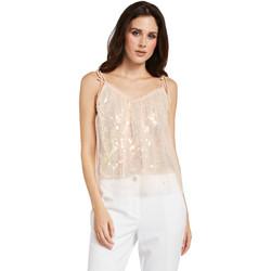 Textiel Dames Tops / Blousjes Gaudi 011FD45036 Roze