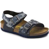 Schoenen Jongens Sandalen / Open schoenen Birkenstock 1004917 Blauw