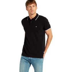 Textiel Heren Polo's korte mouwen Wrangler W7C10K Zwart