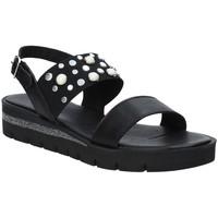 Schoenen Dames Sandalen / Open schoenen Jeiday 3867 Zwart