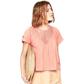 Textiel Dames Tops / Blousjes Pepe jeans PL303306 Roze