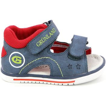 Schoenen Kinderen Sandalen / Open schoenen Grunland PS0017 Blauw