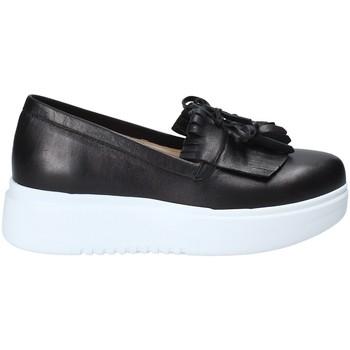 Schoenen Dames Instappers Exton E01 Zwart
