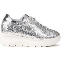 Schoenen Dames Lage sneakers Fornarina PE17VH9545G090 Zilver
