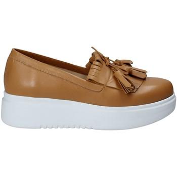 Schoenen Dames Instappers Exton E01 Bruin