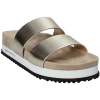 Schoenen Dames Leren slippers Fornarina PE18SA2913 Geel