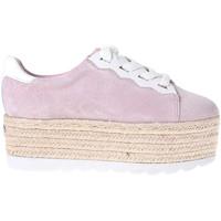 Schoenen Dames Lage sneakers Guess FL6GAB SUE13 Roze