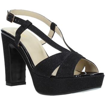 Schoenen Dames Sandalen / Open schoenen Grace Shoes JN 122 Zwart