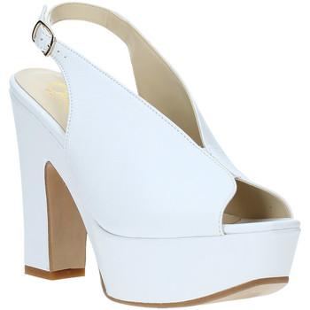 Schoenen Dames Sandalen / Open schoenen Grace Shoes TQ 107 Wit