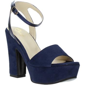 Schoenen Dames Sandalen / Open schoenen Grace Shoes TQ 106 Blauw