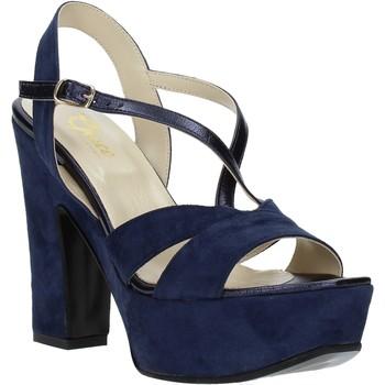 Schoenen Dames Sandalen / Open schoenen Grace Shoes TQ 126 Blauw