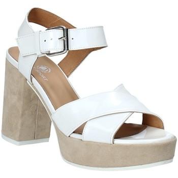 Schoenen Dames Sandalen / Open schoenen Janet Sport 43883 Wit