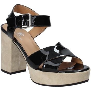 Schoenen Dames Sandalen / Open schoenen Janet Sport 43883 Zwart