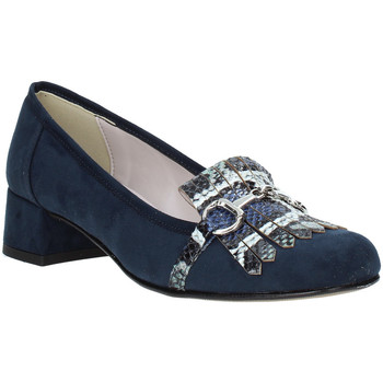 Schoenen Dames Mocassins Grace Shoes 171002 Blauw